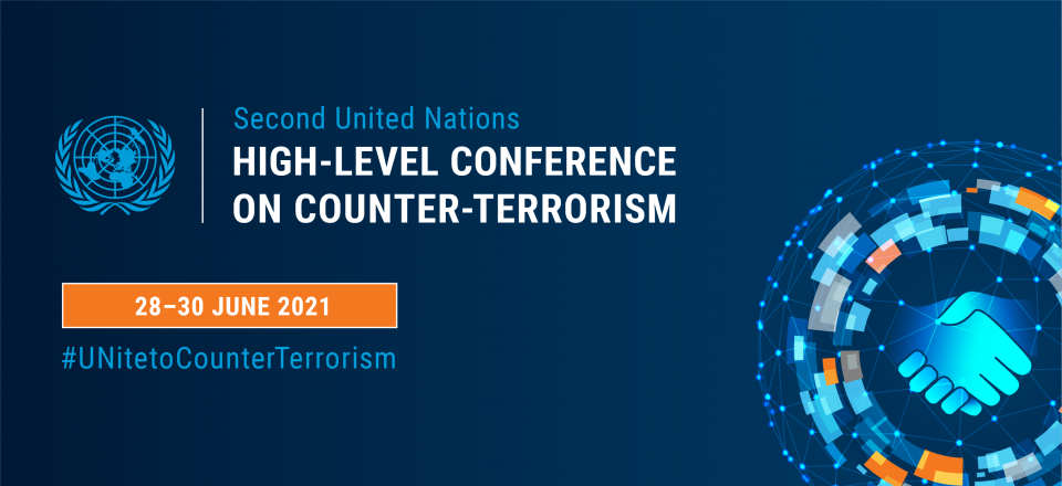 Main branding image of the 2021 High-Level Conference
