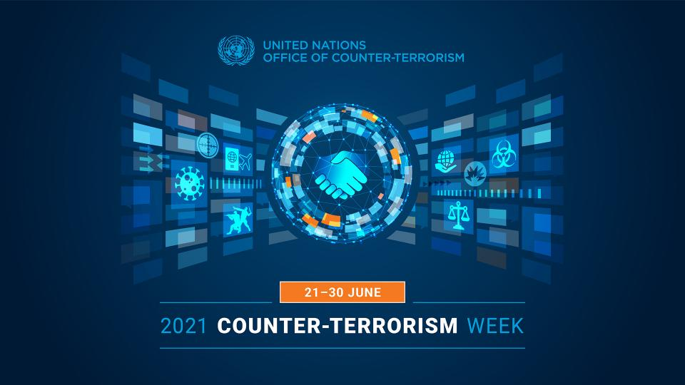 Graphic of the 2021 Counter-Terrorism Week main brand