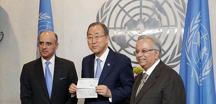 Hand-over Ceremony of Saudi Donation for UN Counter-Terrorism Centre
