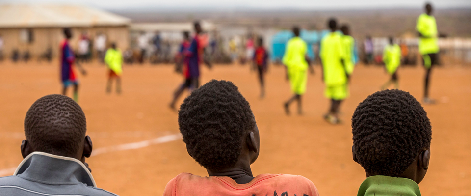 Picture of UNICEF and NGO Sport for Peace Organize Football Tournament in South Sudan