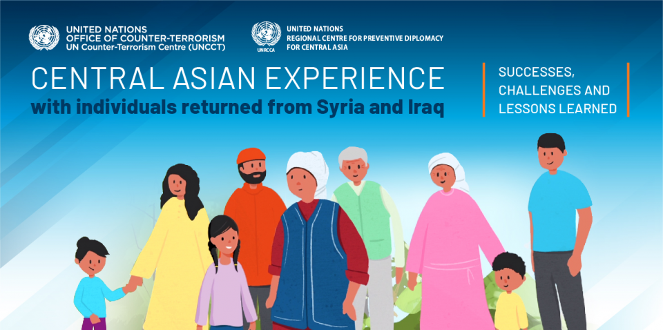 Graphic of the Central Asian Experience with Individuals Returned from Syria and Iraq