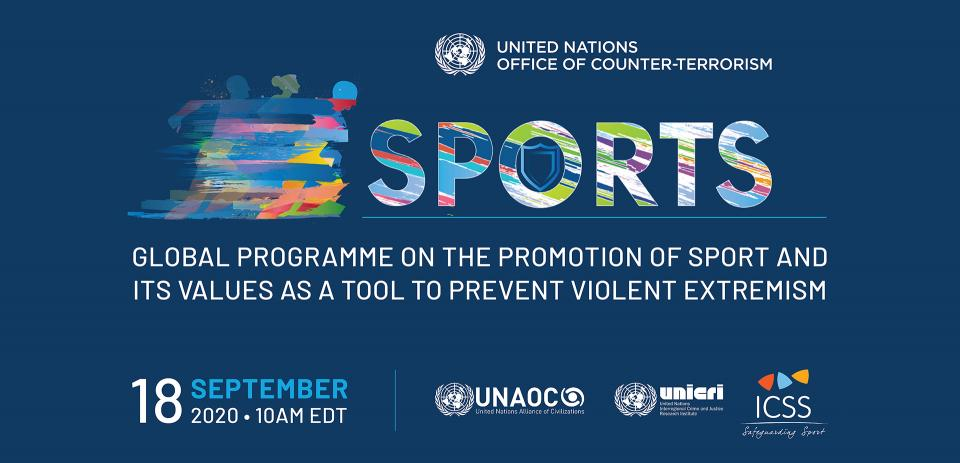 Graphic of the Global Programme on Security of Major Sporting Events