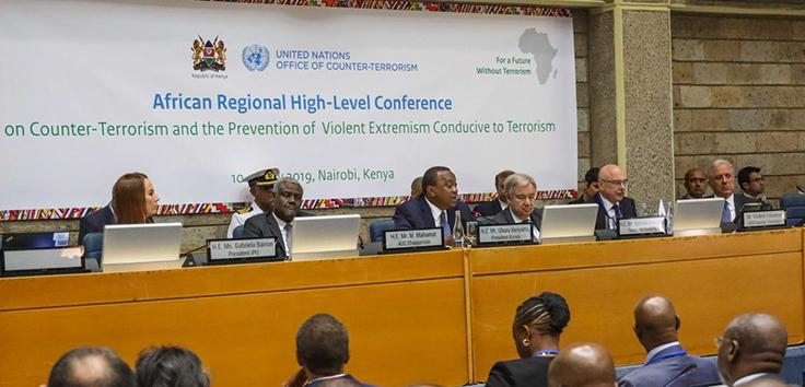 High Level Conference on Counter Terrorism in Kenya