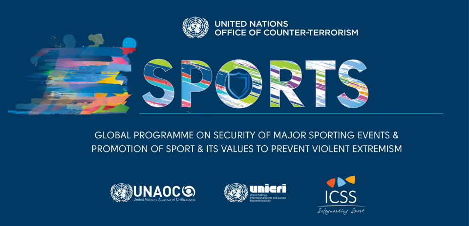 Graphic of Global Programme on Security of Major Sporting Events
