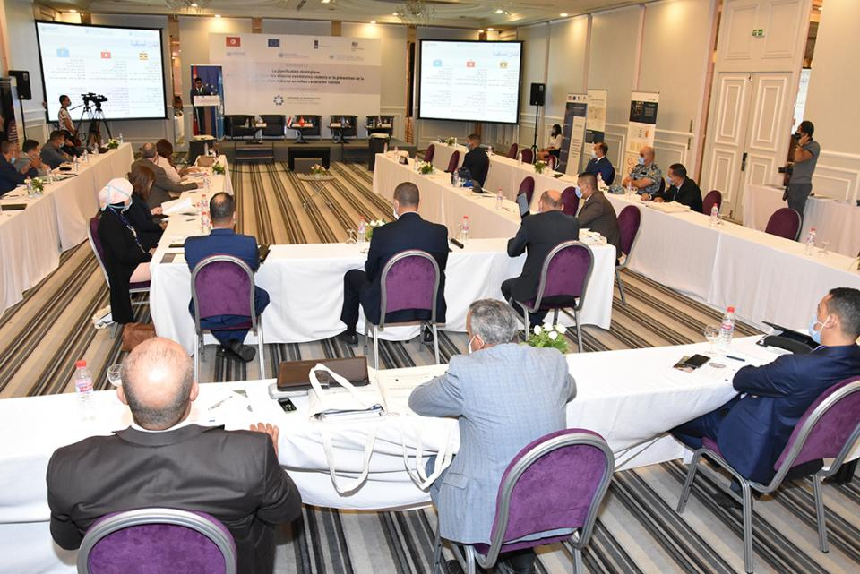 Picture of the Steering Committee Meeting in Tunisia on September 29