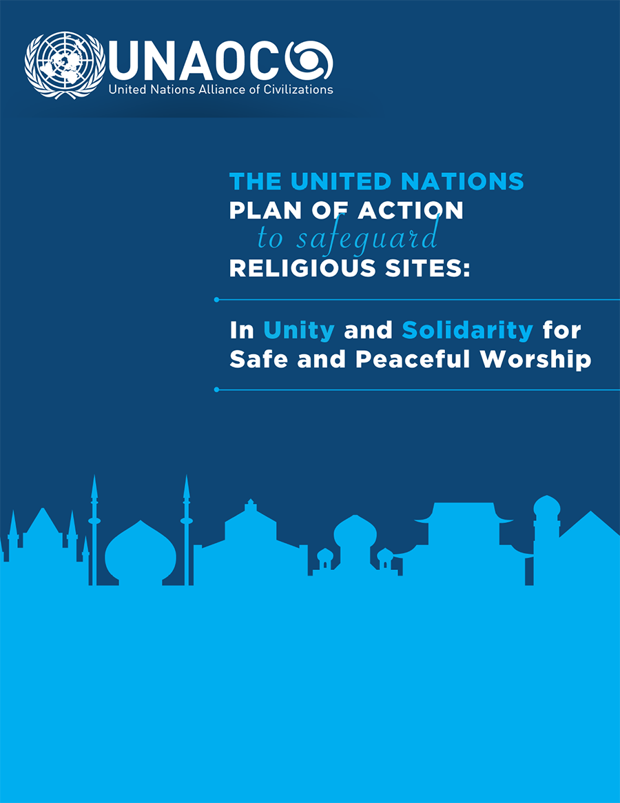 Graphic of the UN Plan of Action to Safeguard Religious Sites