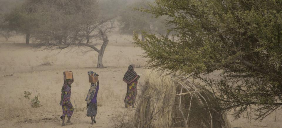 At the site for internally displaced persons in Mellia, Chad