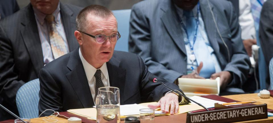 Jeffrey Feltman presents the report of the Secretary-General on the threat posed by ISIL