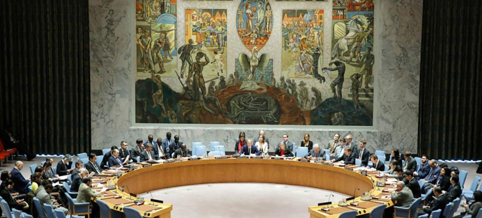 Wide view of the Security Council
