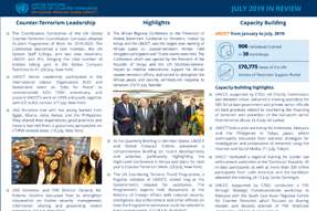 UNOCT in Review - July 2019