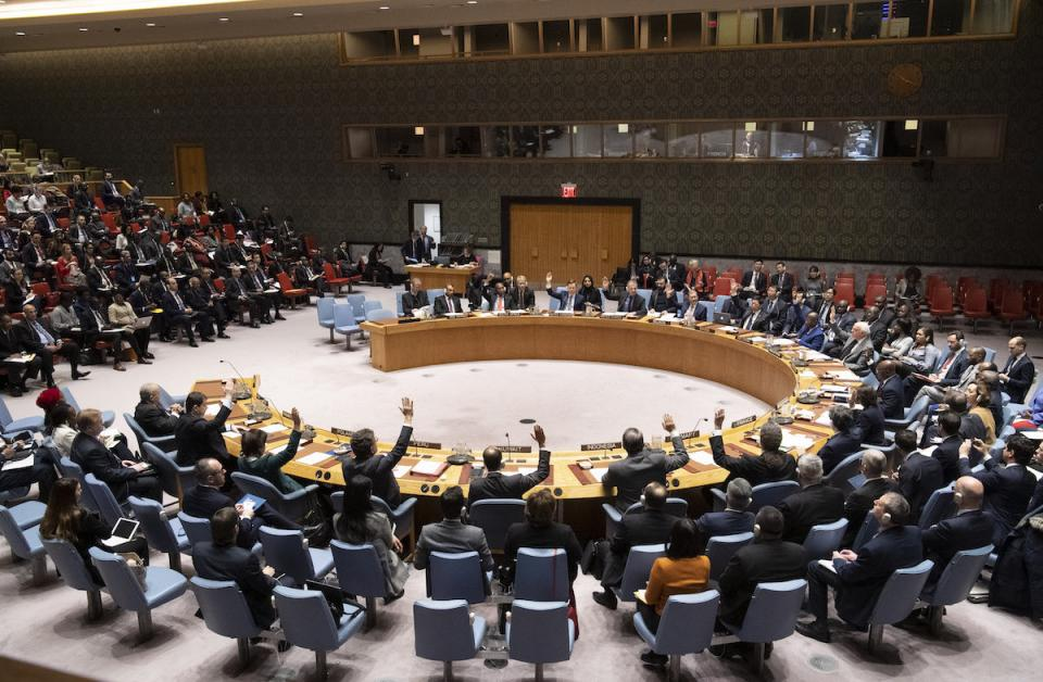 Security Council Adopts Resolution