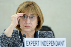 Rosa Kornfeld-Matte, the UN independent expert on the enjoyment of all human rights by older persons