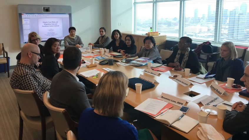 Report of the Expert Group Meeting on Care and Older Persons
