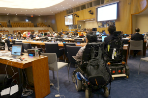 """Women with Disabilities"" Side Event - 8th session of Conference of State Parties"