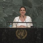 Argentina vice president address at the GA72 General Debate