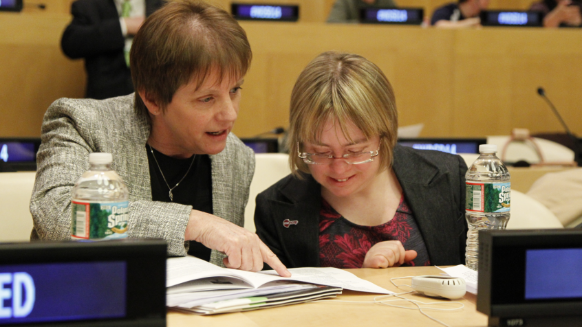 Achieving gender equality and empowering all women and girls with disabilities