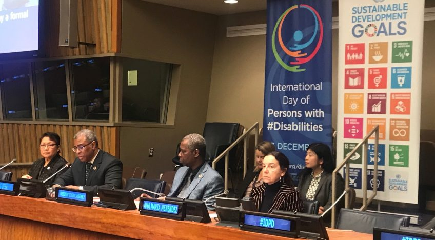 Secretary-General Stresses Persons with Disabilities are Central to Achieving Promise of 2030 Agenda