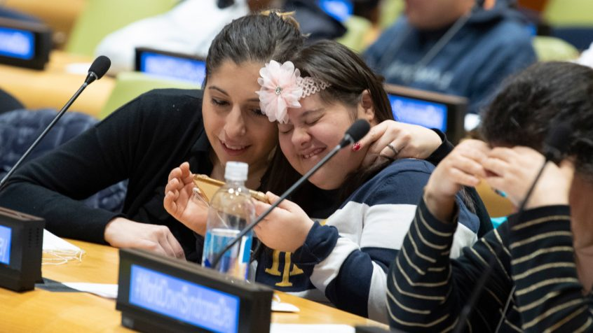 """We Decide"" is the theme of the World Down Syndrome Day, 21 March 2020"