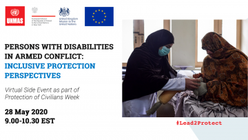 Persons with Disabilities in Armed Conflict: Inclusive Protection Perspectives