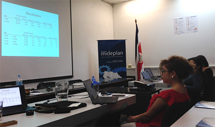 Economy-wide modelling for policy analysis started in Costa Rica