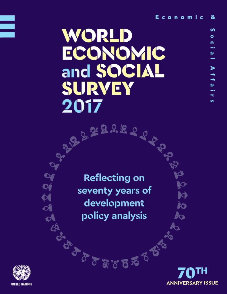 Cover of World Economic and Social Survey 2017: Reflecting on 70 years of development policy analysis