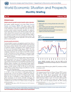 World Economic Situation And Prospects: February 2019 Briefing, No