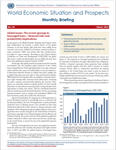 World Economic Situation And Prospects: March 2019 Briefing, No  124