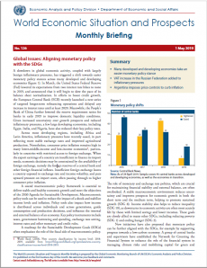World Economic Situation And Prospects: May 2019 Briefing, No  126