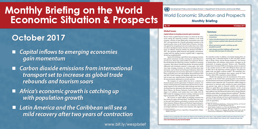 October 2017 Briefing on the World Economic Situation