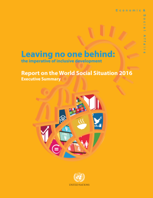 Report on the World Social Situation 2016