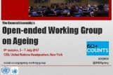 Eighth Working Session of the Open-ended Working Group on Ageing