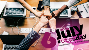 "2019 International Day of Cooperatives on ""COOPS 4 DECENT WORK"