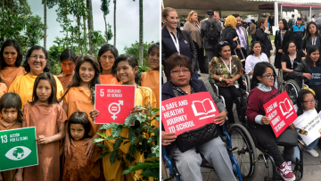Engaging social groups in the VNR process – A case study of persons with disabilities and indigenous peoples