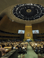 Inside the General Assembly (UN Photo/ Rick Bajornas)