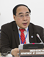 Mr. Wu Hongbo, DESA's Under-Secretary-General