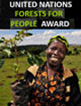 Winning Photo: Faces of the Mau: Community Leader Planting Trees, taken by Riccardo Gangale of Italy, a professional photographer who works primarily in African countries