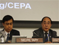 DESA's Under-Secretary-General Mr. Wu Hongbo at CEPA (Photo: DESA/Nathan Henninger)