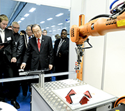 Visit to the Robotex 2013 Technology Exhibition and Robotics Competition [Tallinn University of Technology]