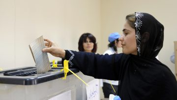 Parliamentary and Presidential elections in the Kurdistan region of Iraq.