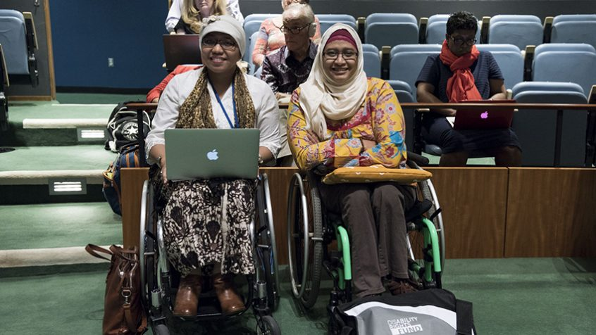 Record number of participants join meeting on the rights of persons with disabilities