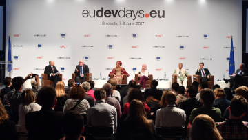 SDG Advocates participate in inspiring high-level panel at European Development Days, call for empathy