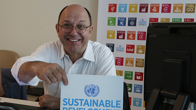 Join Thomas Gass in Twitter chat on the SDGs