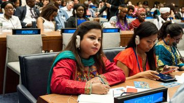 Youth can play 'critical role' in creating a peaceful world for generations to come