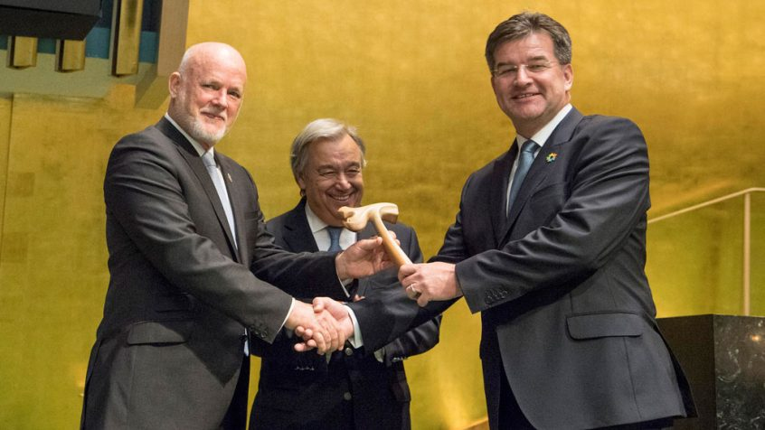 At close of 71st General Assembly, outgoing President stresses sustainability