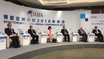 The achievement of Sustainable Development Goals globally depends on regional cooperation, experts say at Boao Forum for Asia