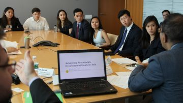 Youth voices count: UN DESA hears from future policy makers