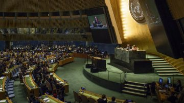 Bring the United Nations closer to the people, urges Assembly President in her inaugural speech