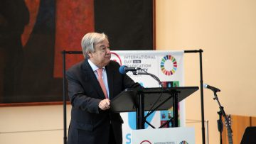 UN Chief says ending poverty 'a question of justice' on International Day
