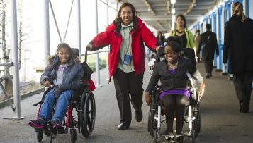 Leaving no one behind – persons with disabilities and the SDGs
