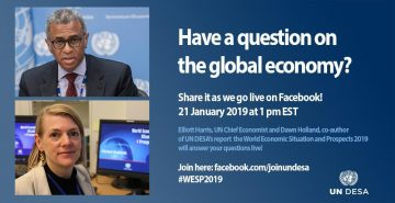 UN DESA launches its definitive report on the shape of the world economy